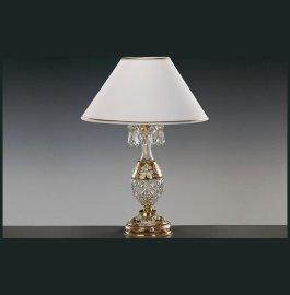 """лампа настольная 1 рожковая """"elite bohemia"""" d-34 см, h-47 см, вес-2,86 кг / 136531"""