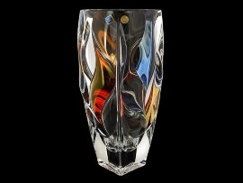 "ваза для цветов 30 см ""bamboo-2 /цветная"" / 143384"