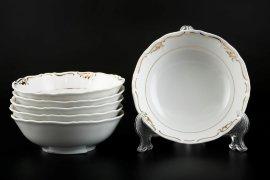 """набор салатников 16 см 6 шт """"мария-луиза /с золотом"""" / 094585"""