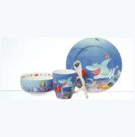 """детский набор 3 предмета """"подводный мир"""" / 140487"""