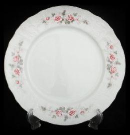 """набор тарелок 17 см 6 шт """"бернадотт /серая роза /платина"""" / 006410"""