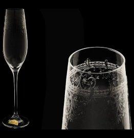 """бокалы для шампанского 210 мл 6 шт """"сelebration /европейский декор"""" / 061195"""