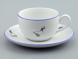 """чашка чайная 250 мл """"ивонн /гуси"""" / 109680"""