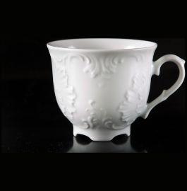 """чайная чашка 250 мл 1 шт """"рококо /без декора"""" / 111619"""