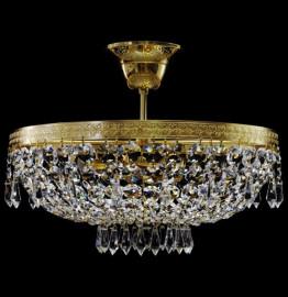 """люстра 3 рожковая хрусталь """"royal bohemia"""" d-35 см, h-40 см / 134702"""