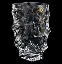 """ваза для цветов 28 см """"calypso /без декора"""" хрусталь йиглава / 062803"""