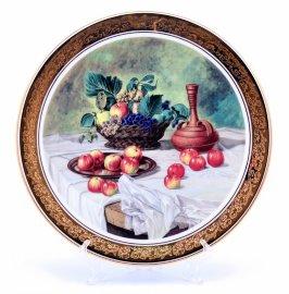 "тарелка настенная 33 см ""фрукты /1007"" / 002167"