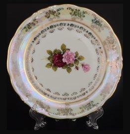 "набор тарелок 17 см 6 шт ""фредерика /роза перламутр"" / 048489"