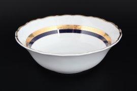 "набор салатников 19 см 6 шт ""мария-луиза /синяя лента с золотом"" / 114887"