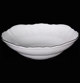 """набор салатников 16 см 6 шт """"бернадотт /платиновый узор"""" / 006105"""
