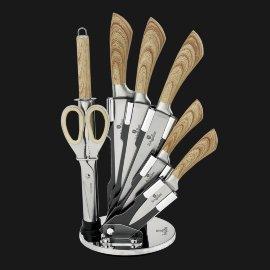 """набор ножей для кухни 8 предметов на подставке """"infinity line"""" / 135769"""
