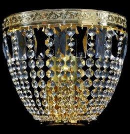 """бра 3 рожковый хрусталь """"royal bohemia"""" d-26 см, h-23 см, вес - 2 кг / 134699"""