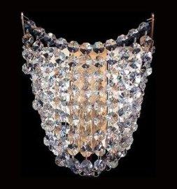 """бра 2 рожковый с камнями сваровски """"elite bohemia"""" d-16 см, h-20 см, вес-0,55 кг / 136556"""