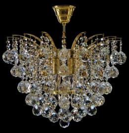 """люстра 6 рожковая хрусталь """"royal bohemia"""" d-50 см, h-40 см / 134710"""
