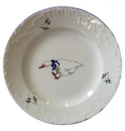 """тарелка 19 см 1 шт """"рококо /гуси"""" / 109913"""