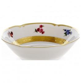 """набор салатников 13 см 6 шт """"мария-тереза /мелкие цветы /золотая лента"""" / 103877"""