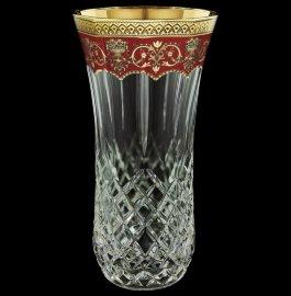 """ваза для цветов 30 см """"astra gold /красная"""" / 127752"""