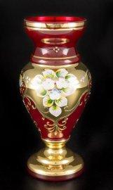 """ваза для цветов 22 см """"лепка красная /83219"""" / 038776"""
