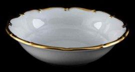 """салатник 23 см """"анжелика /золотая отводка"""" / 027527"""