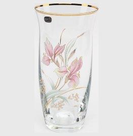 """ваза для цветов 25,5 см """"розовая орхидея 2"""" / 034707"""