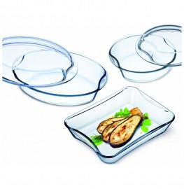 """набор блюд для запекания 5 предметов """"simax /без декора"""" / 134321"""
