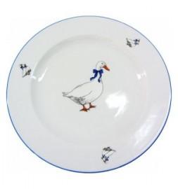 """набор тарелок 17 см 6 шт """"ивонн /гуси"""" / 111427"""