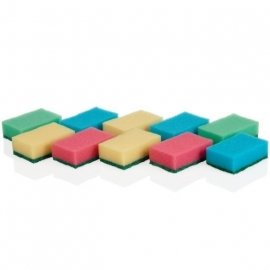 "губки кухонные 10 шт ""tescoma /clean kit"" / 141418"