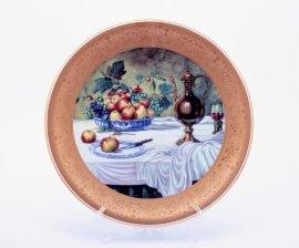 "тарелка настенная 33 см ""фрукты /1007"" / 002168"