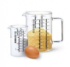 """набор мерных стаканов (0,5 л + 1 л) """"simax /без декора"""" / 143140"""