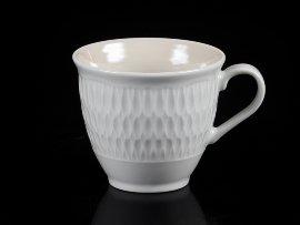 """чашка чайная 220 мл 1 шт """"софия /кремово-бежевая"""" / 124901"""