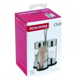 "набор для специй (соль, перец, зубочистки) на подставке ""tescoma /club"" / 141946"