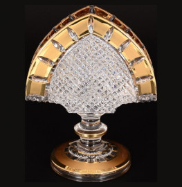 "салфетница 14 см н/н ""crystal heart /золотые окошки"" / 118383"