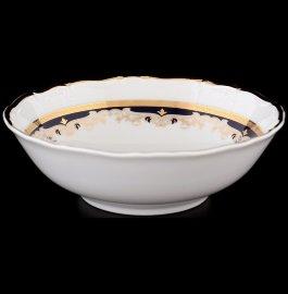 """набор салатников 16 см 6 шт """"мария-луиза /лилии на синем"""" / 056403"""