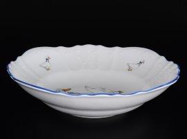 """салатник 25 см """"бернадот /гуси"""" е-м / 088759"""
