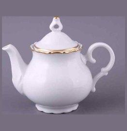 """заварочный чайник 1,2 л """"офелия /золотая отводка"""" / 056035"""