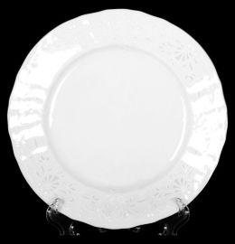 "набор тарелок 17 см 6 шт ""бернадотт /платиновый узор"" / 006110"