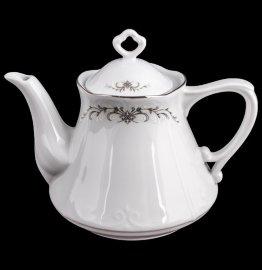 """заварочный чайник 1,1 л """"камелия /серый орнамент"""" / 109730"""