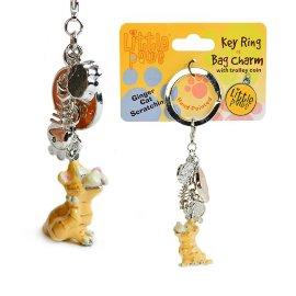 "брелок для ключей ""ginger cat scratching"" / 143994"