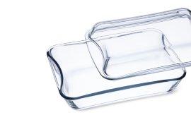 """набор блюд для запекания 3 предмета (2.5 л, 1.9 л) с крышками """"simax /без декора"""" / 131584"""
