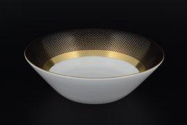 """набор салатников 19 см 6 шт """"констанц /rio black gold"""" / 098777"""