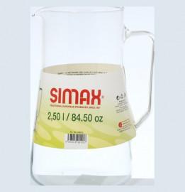 """кувшин для воды 2,5 л """"agra /simax /без декора"""" / 135918"""