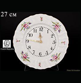 """часы настенные 27 см круглые """"бернадотт /полевой цветок"""" / 012479"""