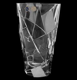"ваза для цветов 30,5 см ""crack мет /хрусталь йиглава"" / 113478"