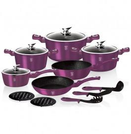"""набор посуды 15 предметов """"royal purple metallic line"""" / 131651"""