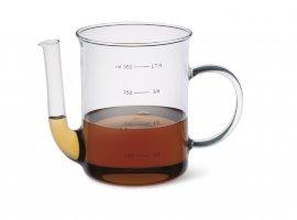 """мерный стакан 1 л с носиком (отделитель жира) """"simax"""" / 019458"""