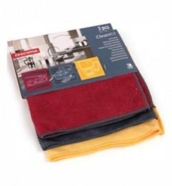 "полотенца для дома 3 шт ""tescoma /clean kit"" / 142113"