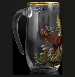 """кружка для пива 560 мл """"охота /олень"""" / 086959"""