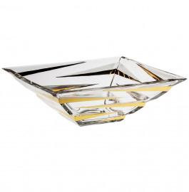"""салатник 29 см """"zig zag gold"""" / 104442"""