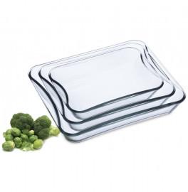 """набор блюд для запекания 3 предмета (1,5 л + 2,5 л + 3,5 л) """"simax /без декора"""" / 135924"""