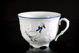 """чайная чашка 330 мл 1 шт """"рококо /гуси"""" / 109920"""